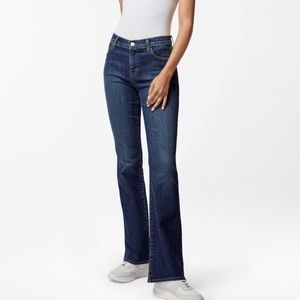 J Brand Sallie Mid-Rise Boot Cut In Reprise